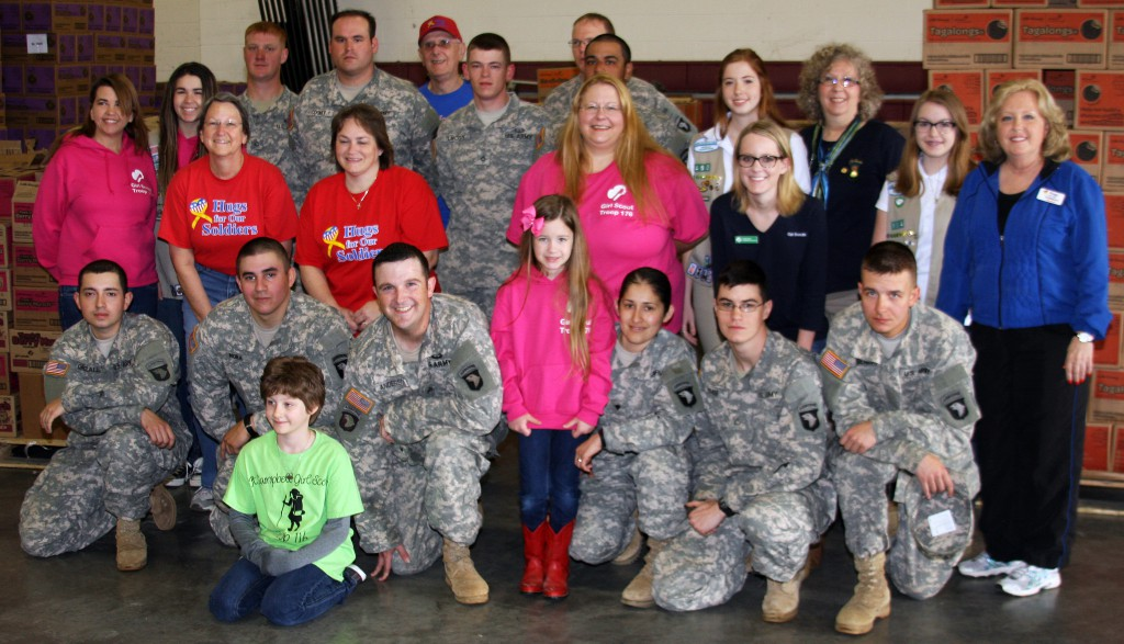 M&W Transportation Supports the Girl Scouts and the Military