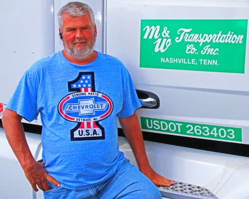 M&W Transportation Truck Driver Kenneth Mofield