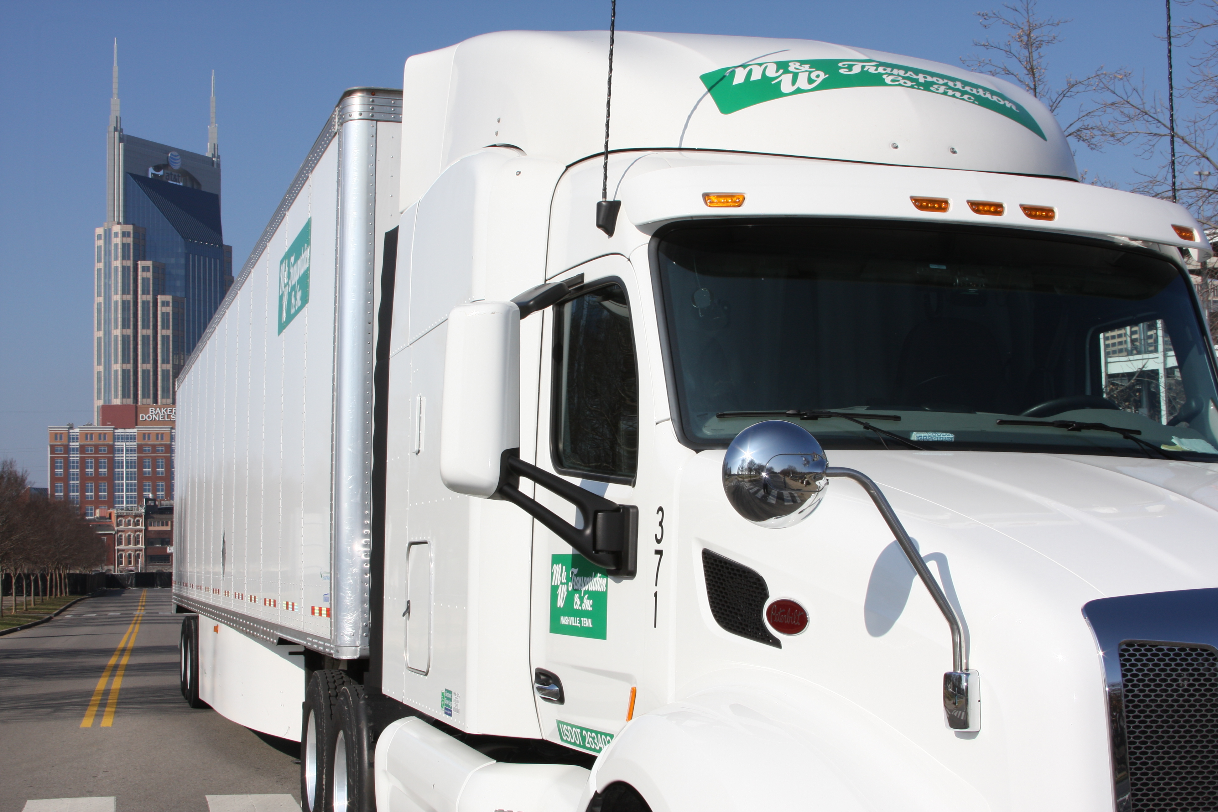 M&W Transportation Truck Driving Commercial