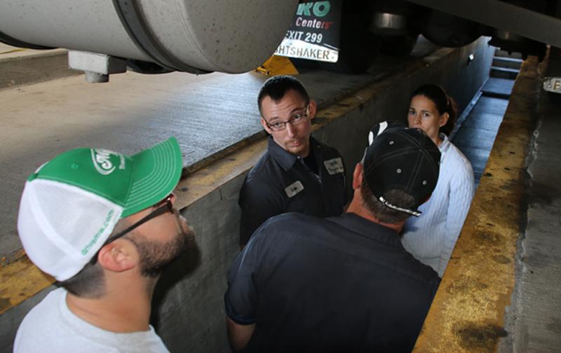 M&W Transportation Truck Inspection