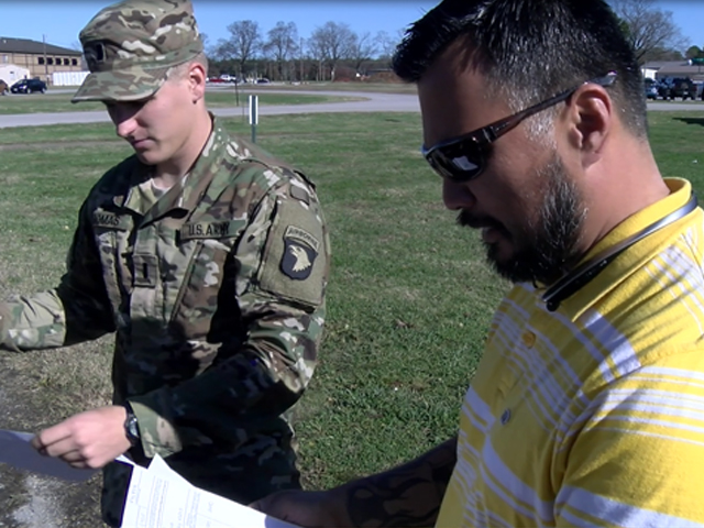 Drive M&W Driver Armando Valadez goes back to Fort Campbell
